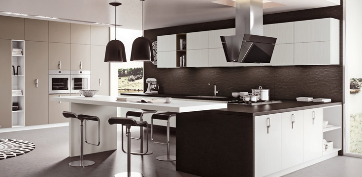 sc nario concept les cuisines design et haut de gamme. Black Bedroom Furniture Sets. Home Design Ideas